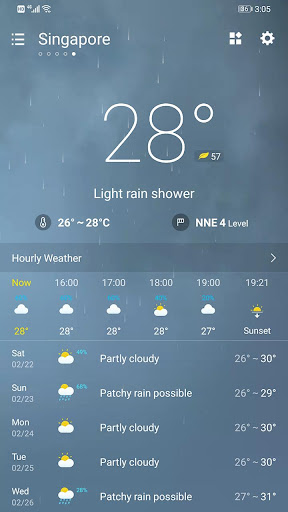 Weather Forecast 2.3.32 screenshots 2