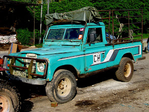 Photo: Year 2 Day 115 -  CH Land Rover