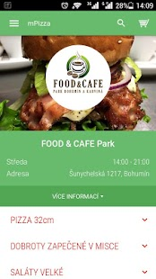 FOOD & CAFE Park Bohumín- screenshot thumbnail