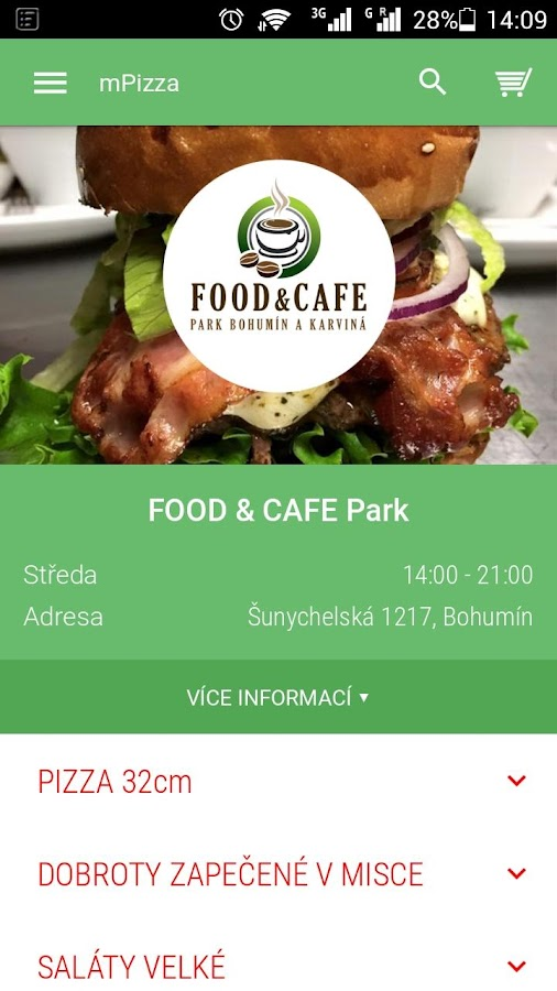 FOOD & CAFE Park Bohumín- screenshot
