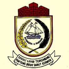 Photo: Lambang Kota Kotamadya Ujung Pandang 1972-1999. Lambang Kota Makassar sebelumnya, teks KOTAMADYA U.PANDANG dalam lambang tertulis KOTAPRADJA MAKASSAR tanpa pita dan teks dibawah lambang. http://nurkasim49.blogspot.com/2011/12/vi.html