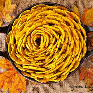 Thanksgiving Recipes - Roasted Squash Blossom