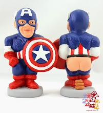 Photo: Caganer Capitán América