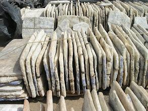 Photo: Port na Nigrze: Handel plastrami soli