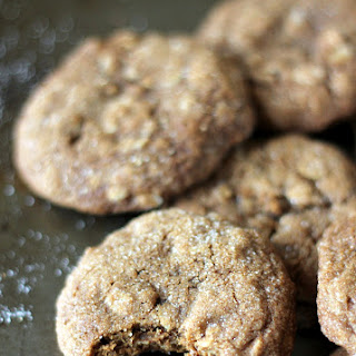 Brown Butter Chewy Ginger Oatmeal Cookies Recipe