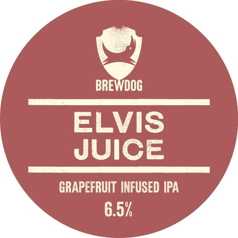 Logo of BrewDog Elvis Juice