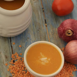 Masoor Dal Curry Soup ( Eat Well Stay Well Recipes)