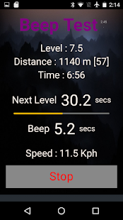 Beep Test- screenshot thumbnail