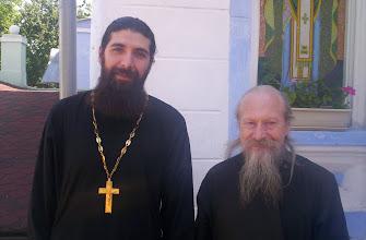 Photo: Padre Siluan y Obispo Germogen de Chernigov y Gomel