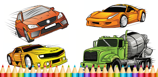 Cars Coloring Book - Aplicaciones en Google Play