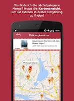 Screenshot of Mensa Speiseplan App