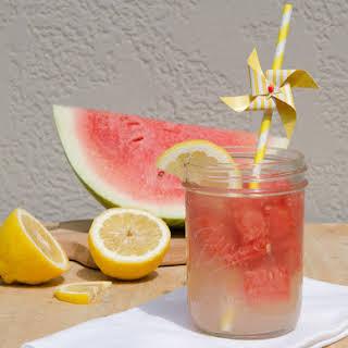 No Sugar Watermelon Lemonade.