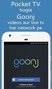Goonj: new Pocket TV Live TV News & Cricket 1 4 1 4 + (AdFree) APK