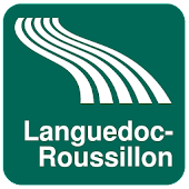 Languedoc-Roussillon Map