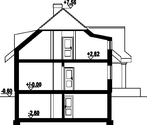 Chmielniki małe 15 - Przekrój