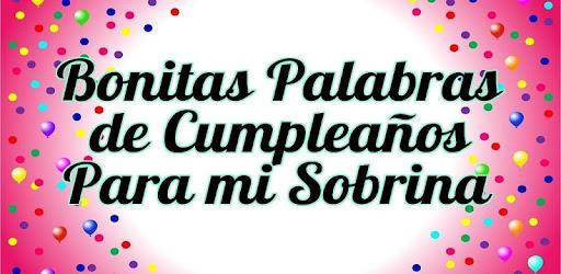 Feliz Cumpleaños Sobrina Apps On Google Play