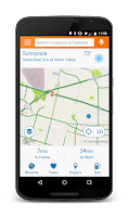 Screenshot of AT&T Navigator: Maps, Traffic