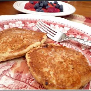 Low Fat high fiber Pancakes.