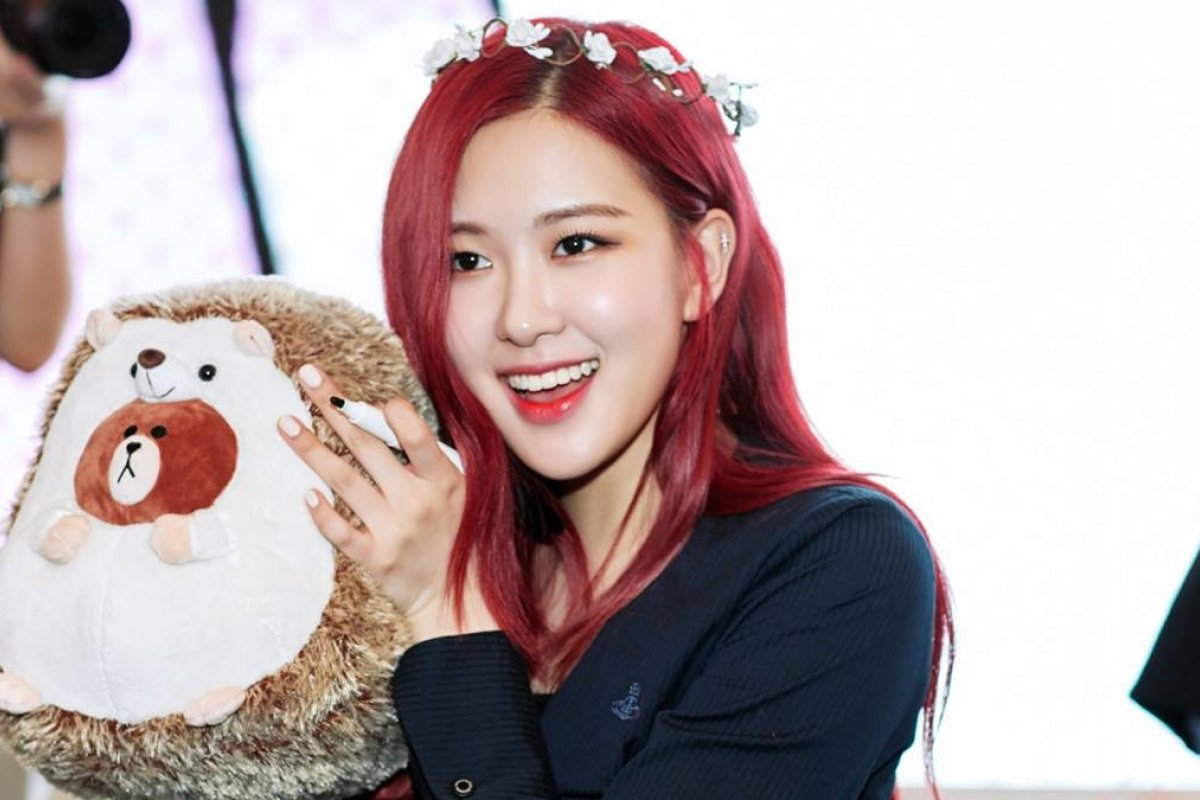 BLACKPINK Rosé happy