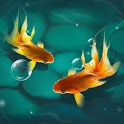 Magic Touch KoiFish LWP icon