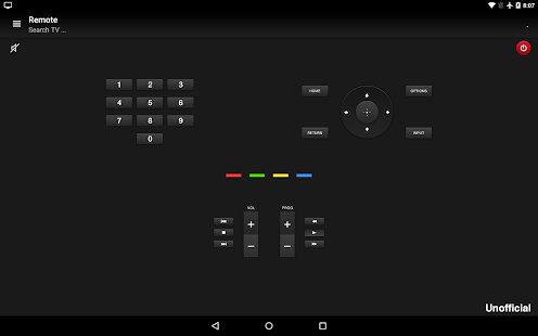 Remote for Sony TV - Apps on Google Play