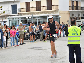 Photo: The end of the triathlon race. The run part is always something that I can never enjoy!