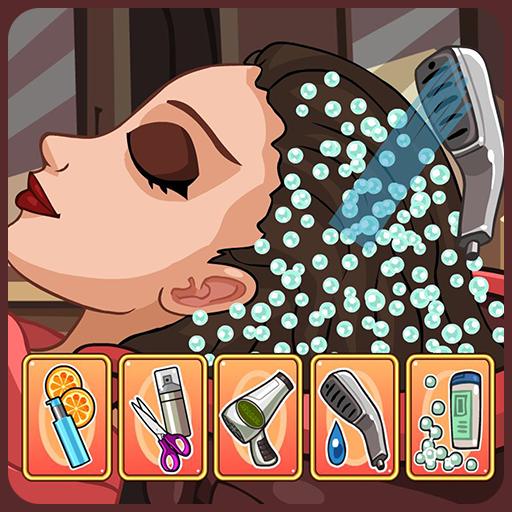 Star girl beauty spa salon Icon