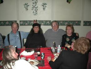 Photo: Fred WB7SDR, his xyl Martha KC7FML, KØIP, and xyl Pat
