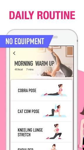 Women Workout at Home - Female Fitness 1.1.8 screenshots 4