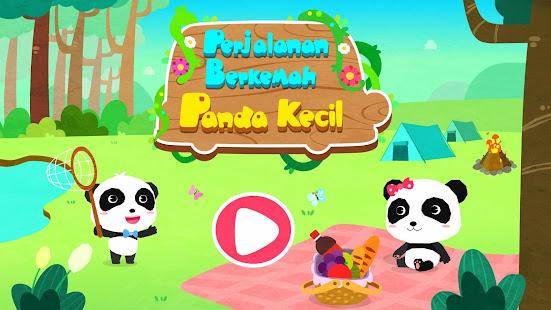Unduh Perjalanan Berkemah Panda Kecil Gratis