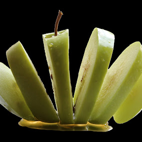 Sliced apple by Milla Kantola - Food & Drink Fruits & Vegetables