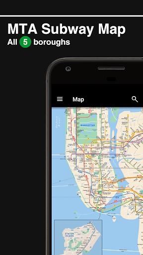 New York Subway – MTA map and routes of NYC Subway Screenshot
