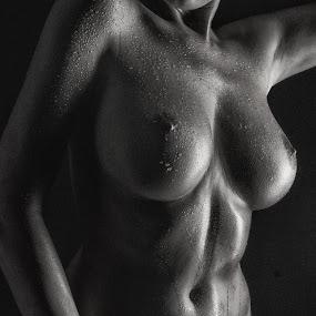Wet in the Dark by Tatjana GR0B - Nudes & Boudoir Artistic Nude