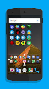Foldery Multicon Folder Widget Screenshot