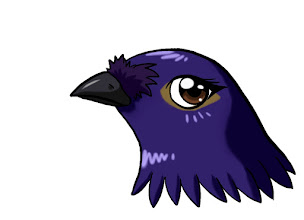 Photo: 紫嘯鶇(漫畫)