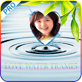 Love Water Photo Frame