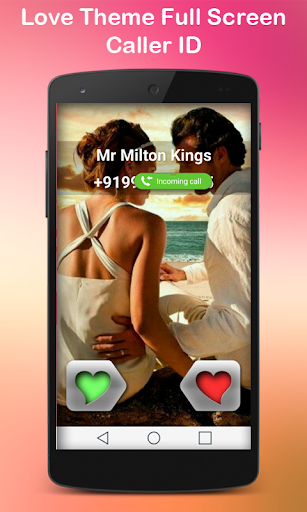 Photo Caller ID Love Theme
