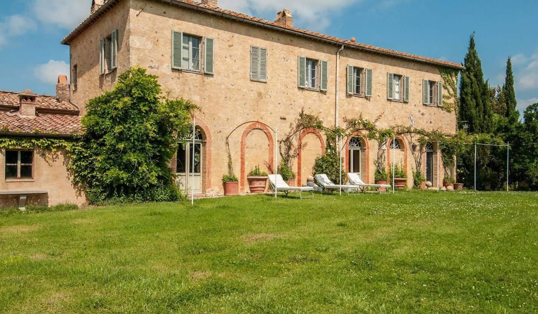 Villa avec piscine Montalcino