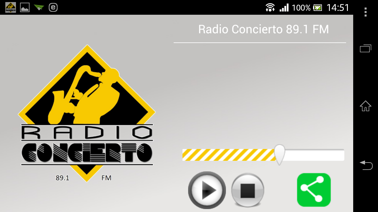 Radio Concierto 89.1 FM- screenshot