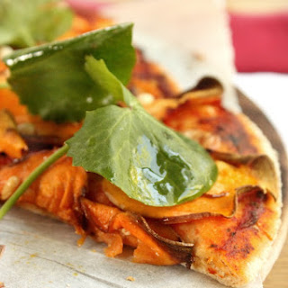 Sweet Potato and Blue Cheese Wholemeal Pizza