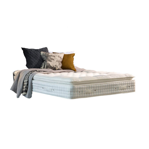 Hypnos Melody Pillow Top Bed on Legs