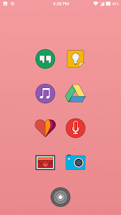Sugar Lines Oreo Icon Pack Screenshot