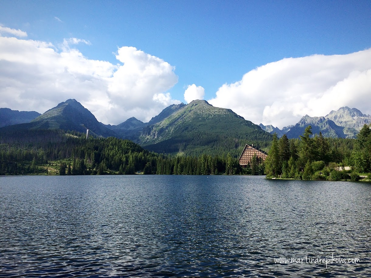 Strbske pleso and Tatra mountains, Slovakia