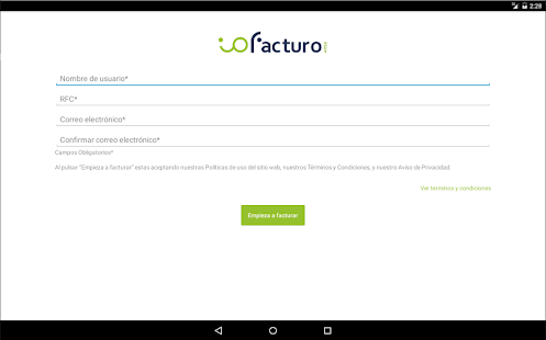 ioFacturo- screenshot thumbnail