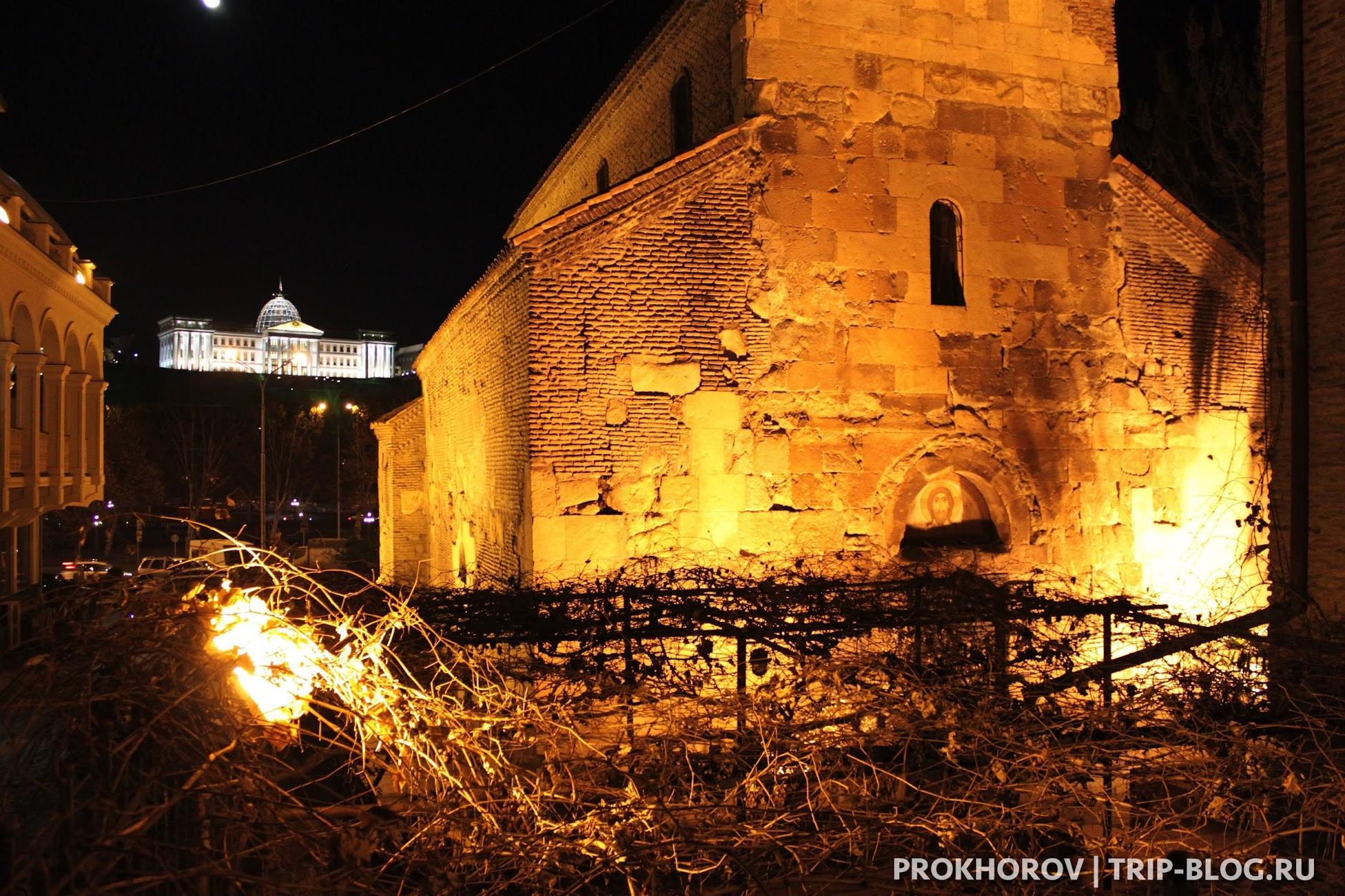 Церковь Рождества Пресвятой Богородицы в Тбилиси