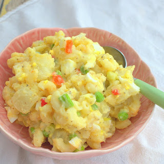 Potato-Mac Salad with Amish Boiled Dressing Recipe