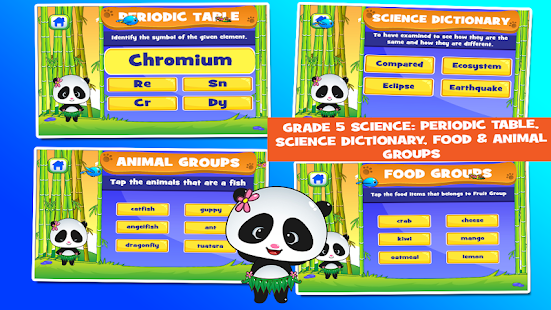 Panda 5th grade learning games android apps on google play panda 5th grade learning games screenshot thumbnail urtaz Images
