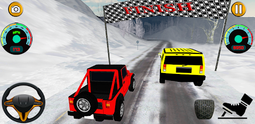 Offroad Jeep - Extreme Mountain Snow Driving APK