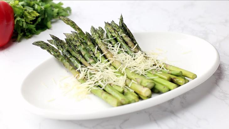 Parmesan Roasted Asparagus Recipe