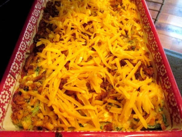 Last 5 minutes, sprinkle with cheese and place back into oven and bake until...